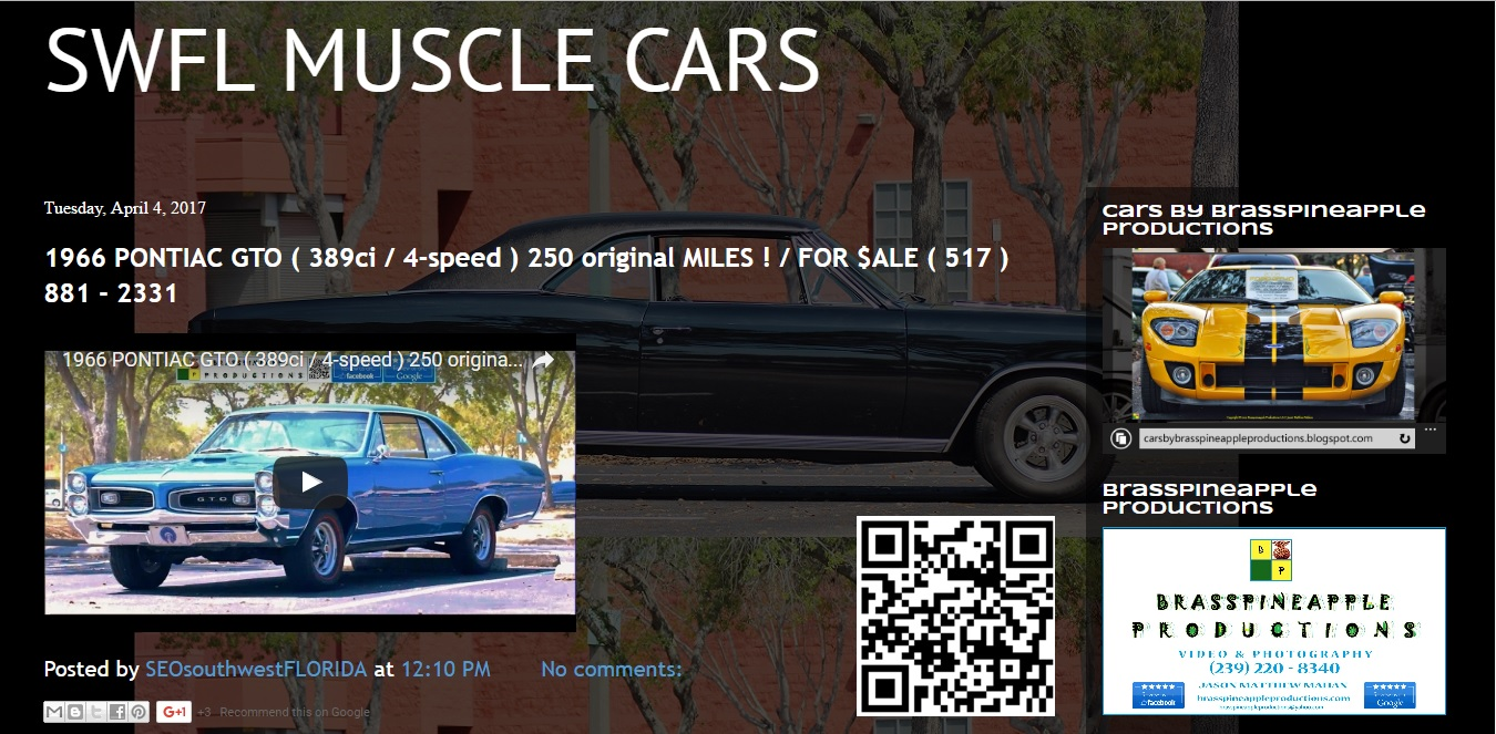 SWFL MUSCLE CARS