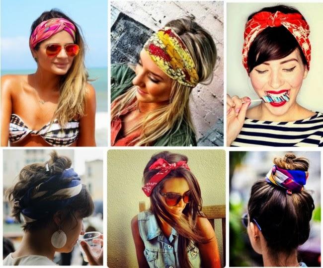 moda acessórios femininos, lenços no cabelo, scarves