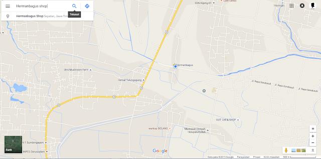Cara Memasukan Lokasi Google Maps Kita di Blog