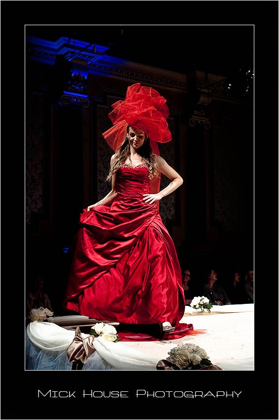 Valentia Bridal Red Wedding Dress