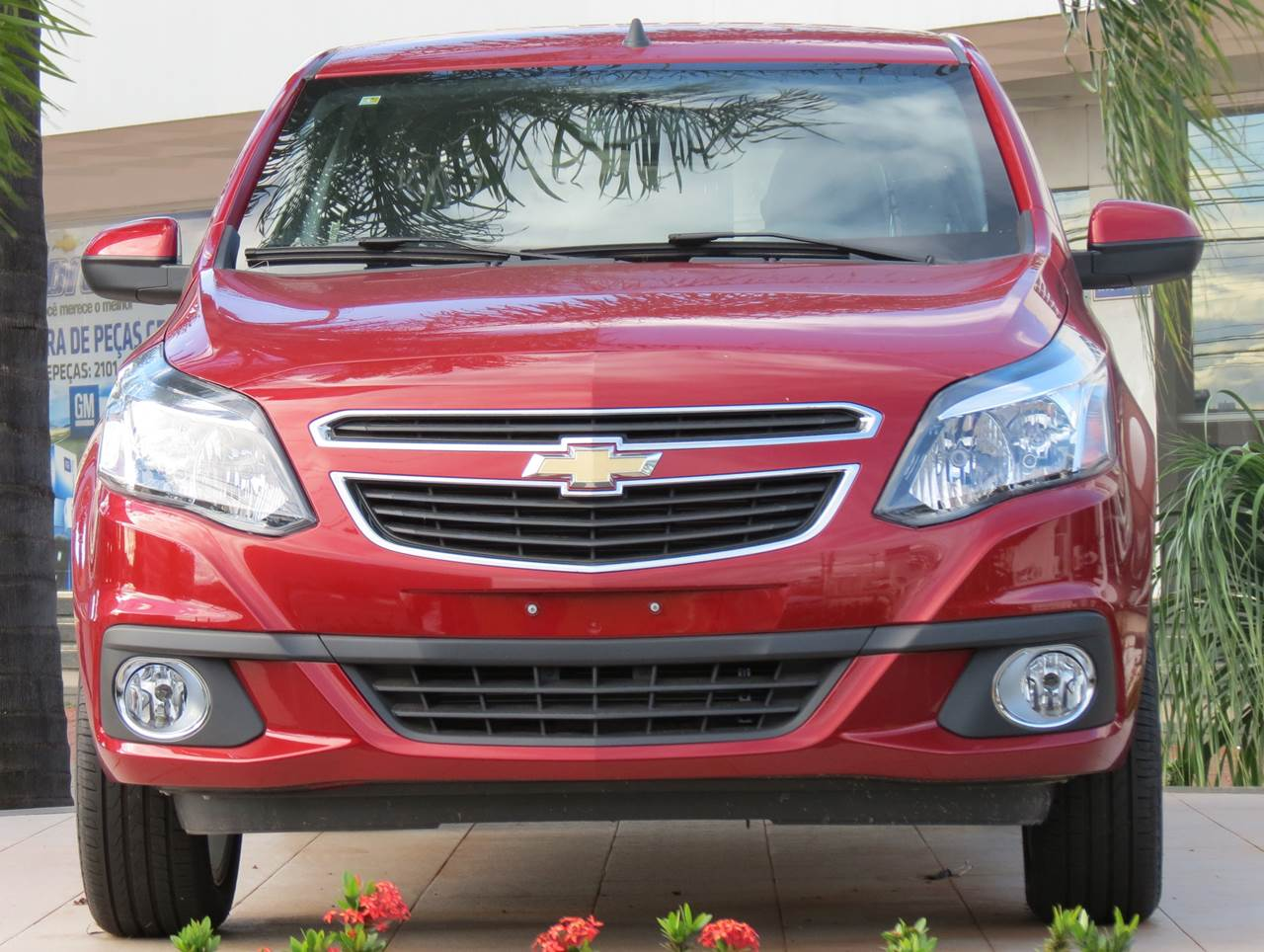 Novo Chevrolet Agile 2014