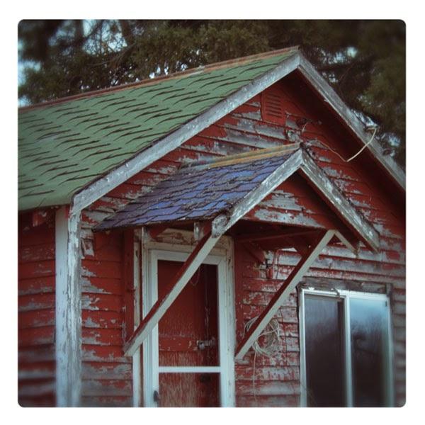 rustic lake cabin