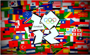 What a cool picture of the London logo and flags of participating counties.