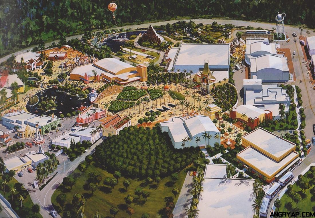 Angry Ap Disneyland And Walt Disney World Nostalgia Disney Mgm Studios Concept Art