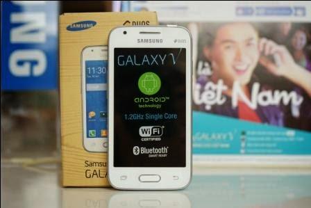 Spesifikasi harga Samsung Galaxy V, Samsung Android KitKat