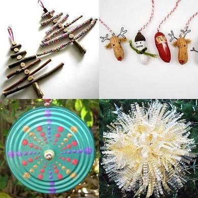 El mundo del reciclaje adornos de navidad reciclados for Adornos navidenos hechos con reciclaje