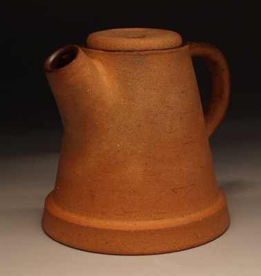 Flowerpot teapot by Future Relics Pottery