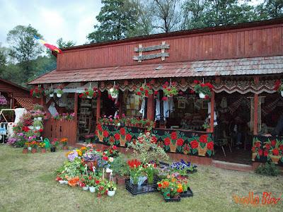Sat alegoric la Festivalul Vaii Muresului