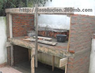 Construcci n barbacoa uruguaya plano - Construccion barbacoa paso a paso ...