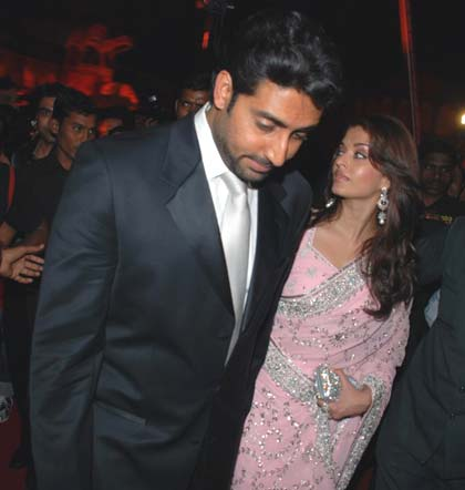 Aishwarya Rai With Her...