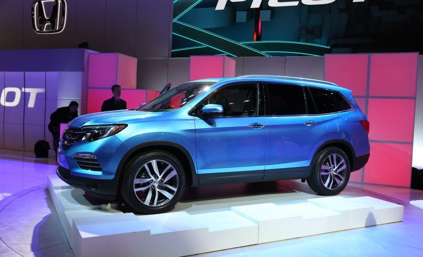 New Features for 2016 Honda Pilot