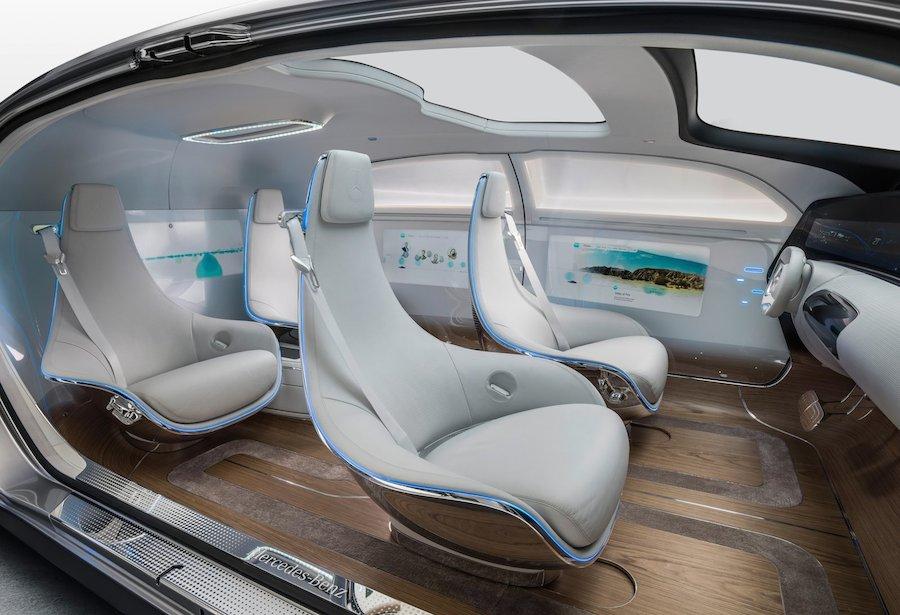 メルセデスベンツ F015 ラグジュアリー・イン・モーション コンセプトカー