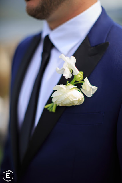 The Sagamore Wedding - Lake George, NY - Flowers - Boutonniere