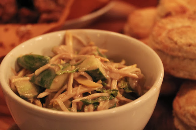 Fennel slaw at Belly, Cambridge, Mass.