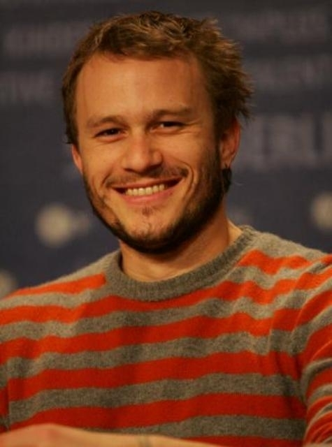 heath ledger long hair