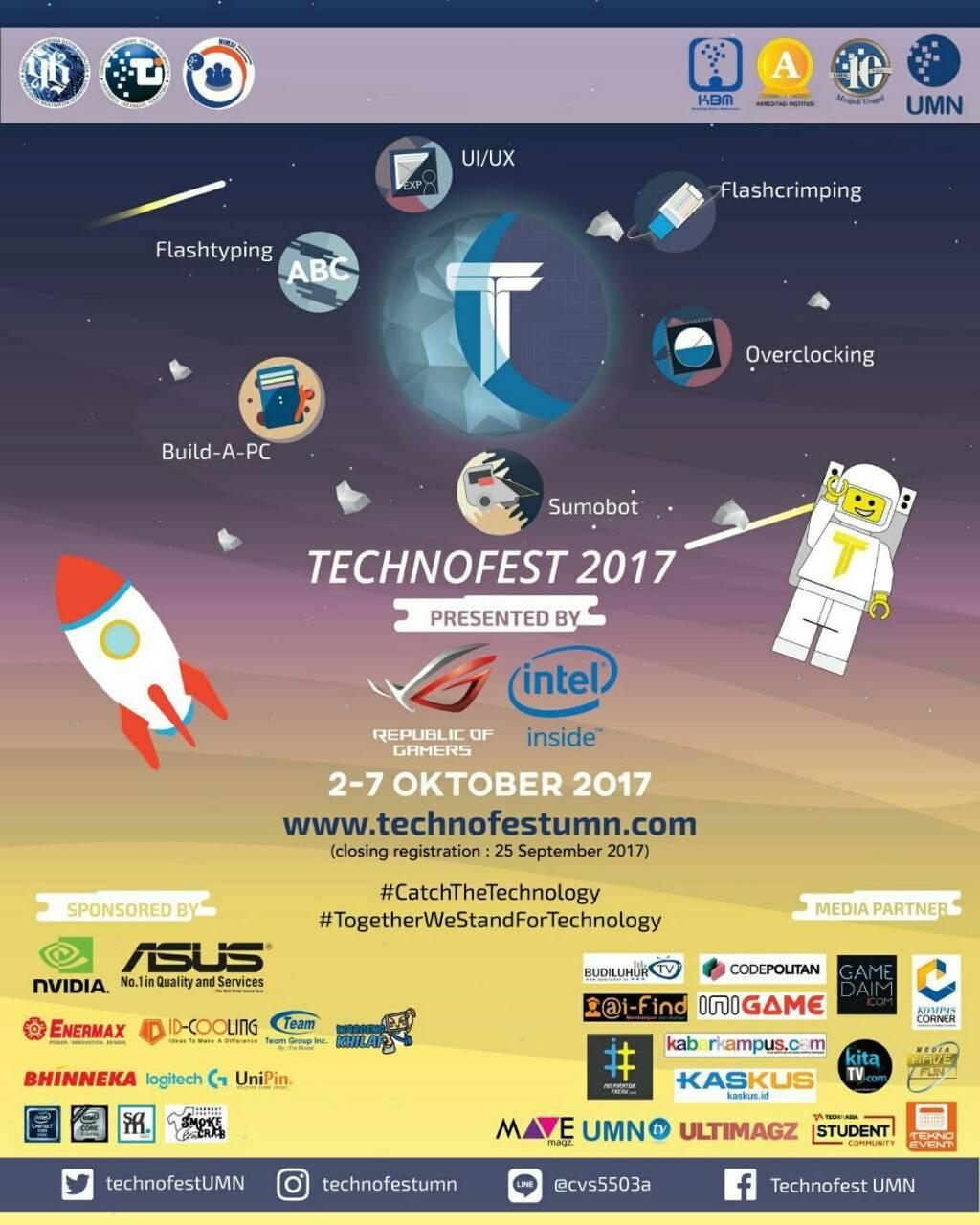 Technofest UMN 2017, Hadiah 60 Jt