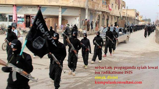 sebarkan, propaganda syiah lewat isu radikalisme ISIS