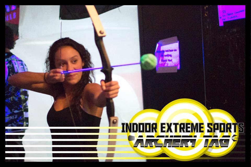 Extreme Sports Complex offers Archery Tag