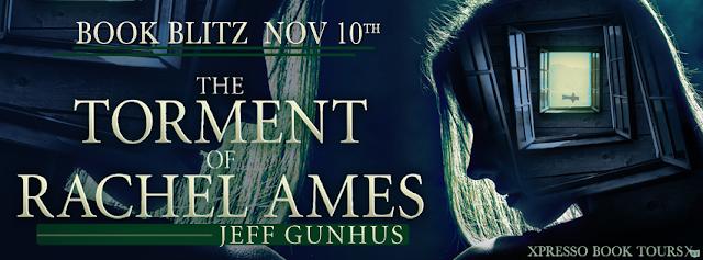 Book Blitz: The Torment Of Rachel Ames by Jeff Gunhus