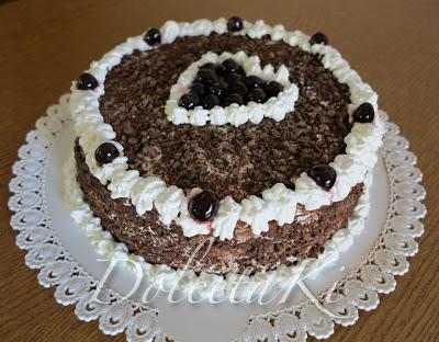 torta foresta nera schwarzwälder kirschtorte