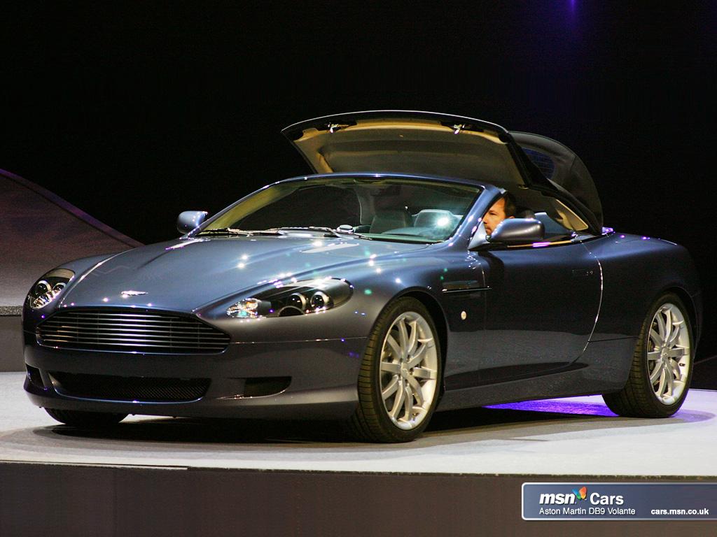 Cars Aston Martin Db9 Convertible