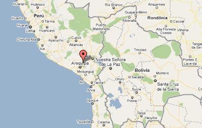 temblor en arequipa hoy 25 de junio 2011 en La Reserva Nacional Salinas y Aguada Blanca