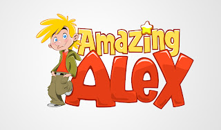 Amazing Alex Logo HD Wallpaper