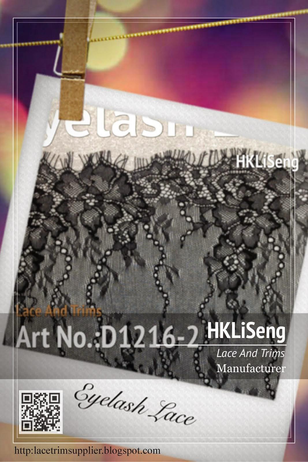 Eyelash Lace Manufacturer - Hong Kong Li Seng Co Ltd