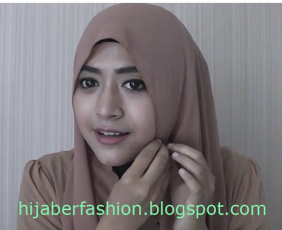 Hijab Tutorial Masa Kini Trend Cara Memakai Jilbab 2013 Pasang Jilbab ...