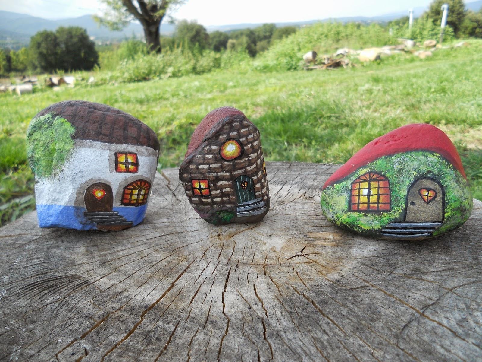 piedra pintada casas