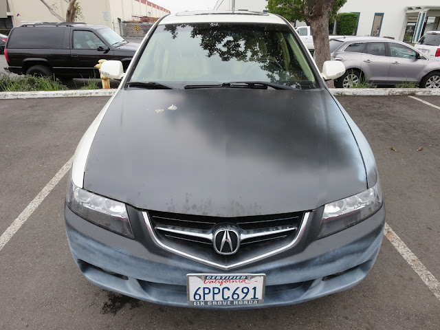 Acura TSX in need of new paint from Almost Everything Auto Body