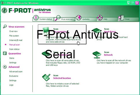 F-Prot Antivirus Serial Number Crack Keygen License Free Download