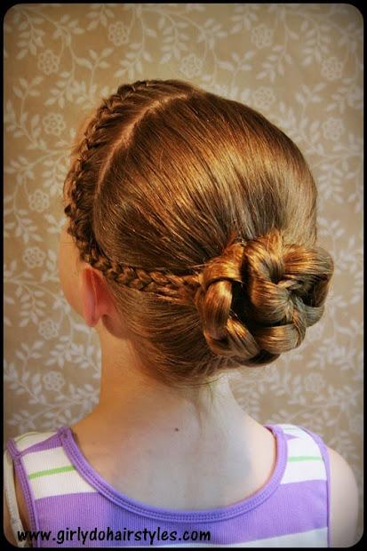 tumbling braids hairstyle