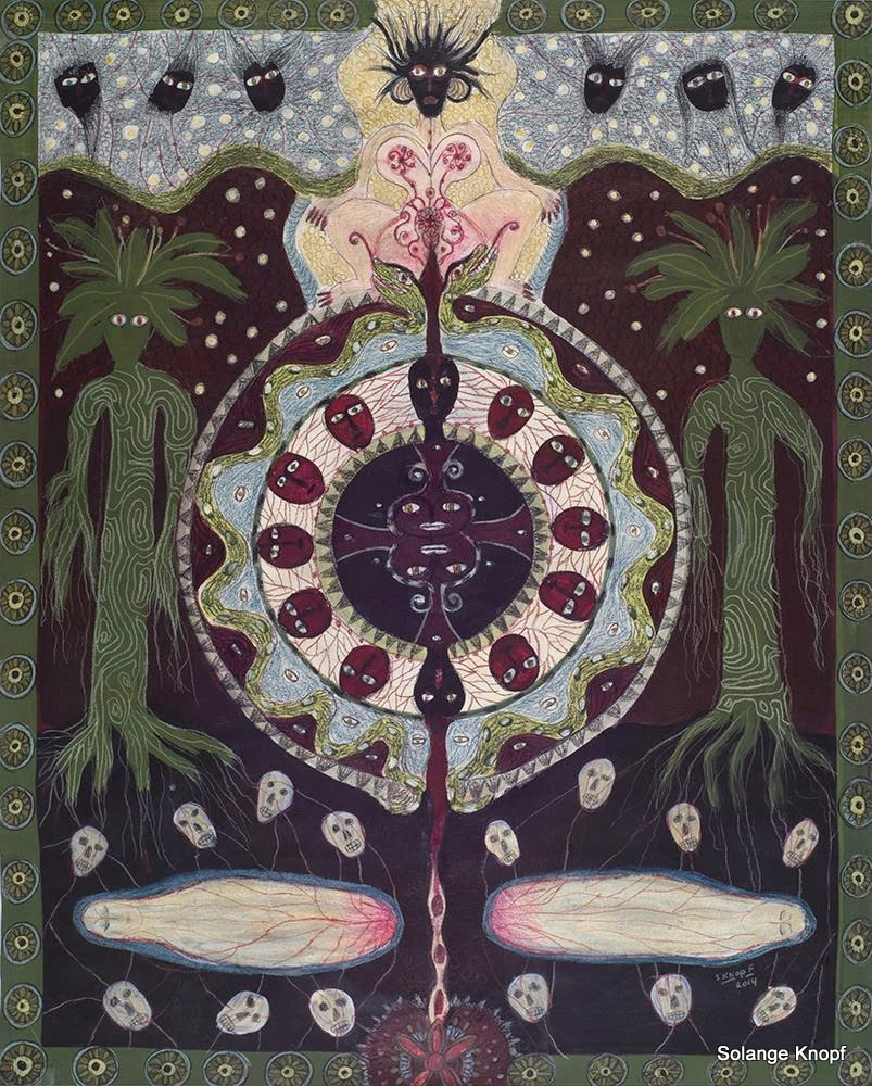 Solange Knopf # Spirit Codex #