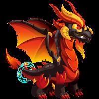 Dragón Apocalipsis juvenil o adolescente