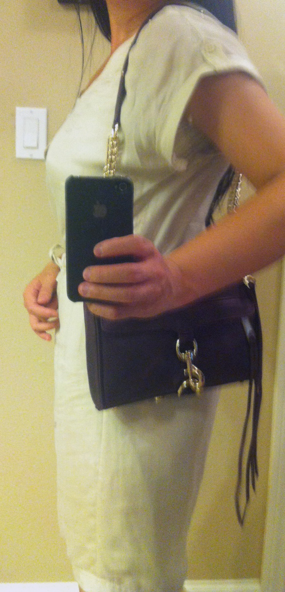My Superficial Endeavors: Rebecca Minkoff Mini M.A.C. Shoulder Bag