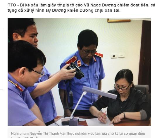 Thêm một án oan khiến Vũ Ngọc Dương bị kết án 30 Năm Từ