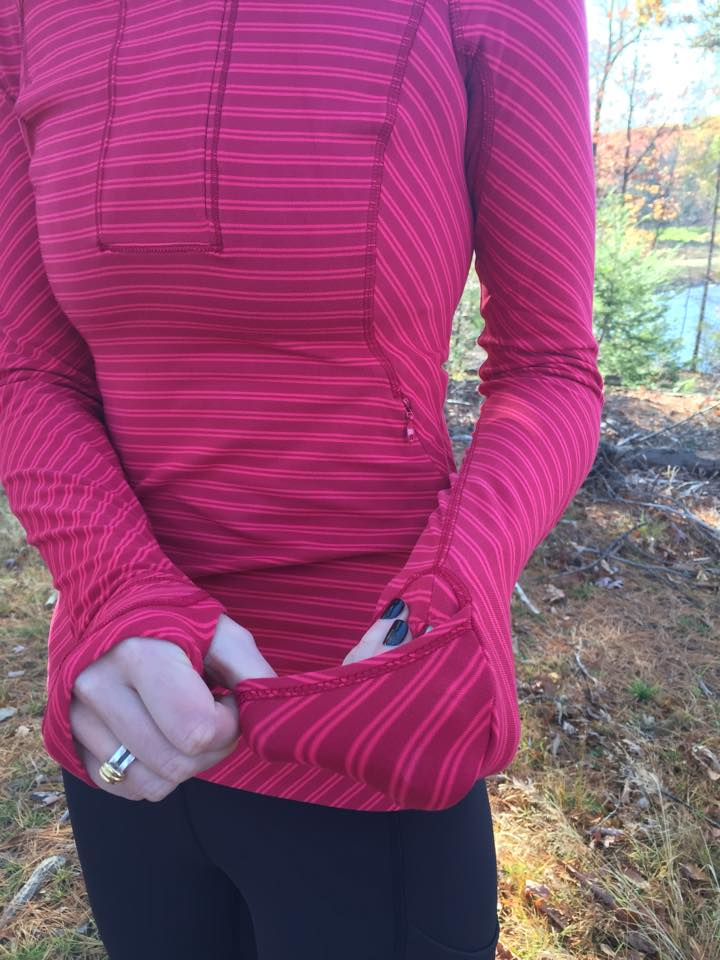 lululemon rad red pullover