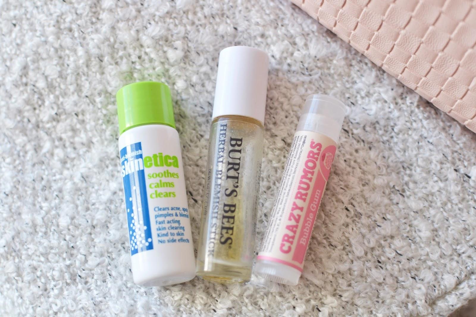 anti-blemish products, spot treatments