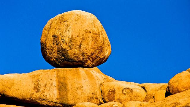 Namibia Spitzkoppe boulder