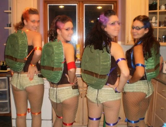 TMNT Hotties Girls Costumes