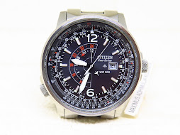 CITIZEN NIGHTHAWK PILOT WATCH - WATER RESIST 200M - ECODRIVE