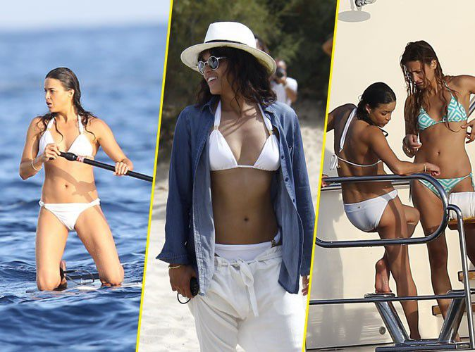 Michelle Rodriguez: hot bikini and couple for his holidays?