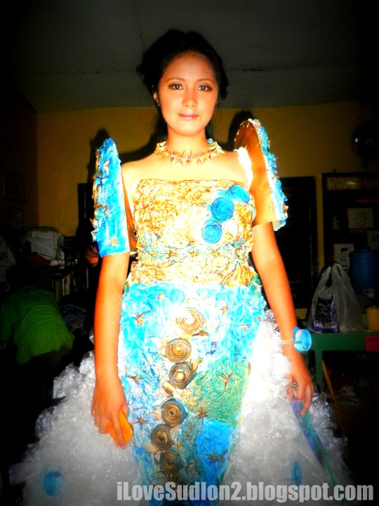 I Love Sudlon 2: Recycled Filipiniana Gown of Summer Camp 2011