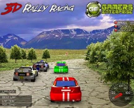 لعبة سباق رالي