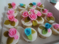 Cupcake Hantaran Fondant