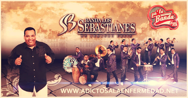 Banda Los Sebastianes - Pa' La Banda Night Show CD Album 2013