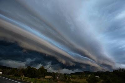 Shelf Cloud über Australien, Fotos Fotogalerie, Oktober, 2011, Storm Chaser,