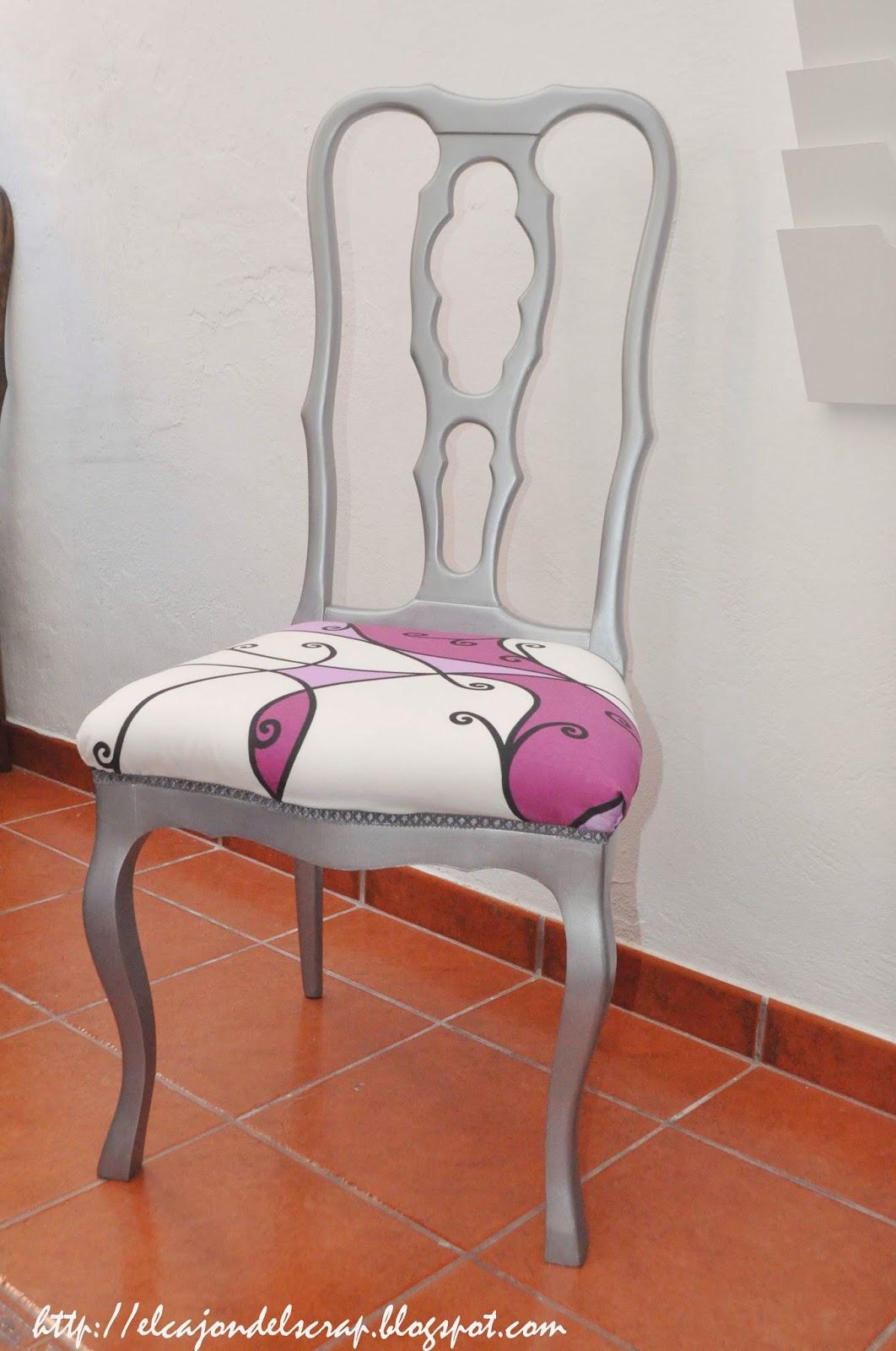 El caj n del scrap silla cl sica restaurada y renovada for Sillas clasicas diseno