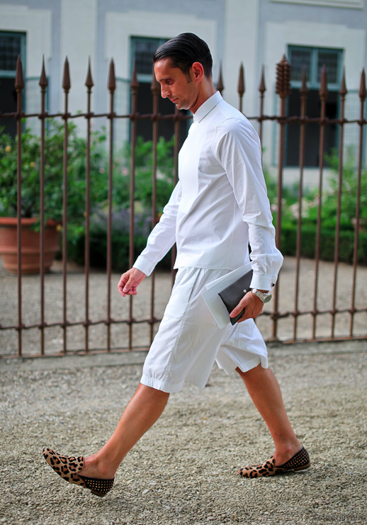 AFS: Men Style Mondays: All White